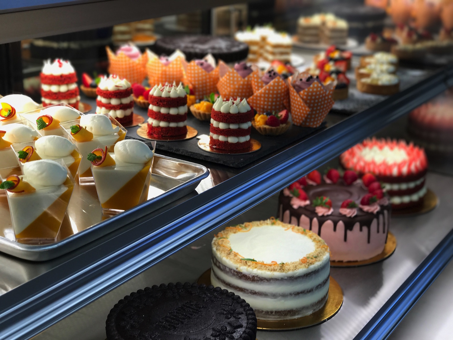 French patisserie confections