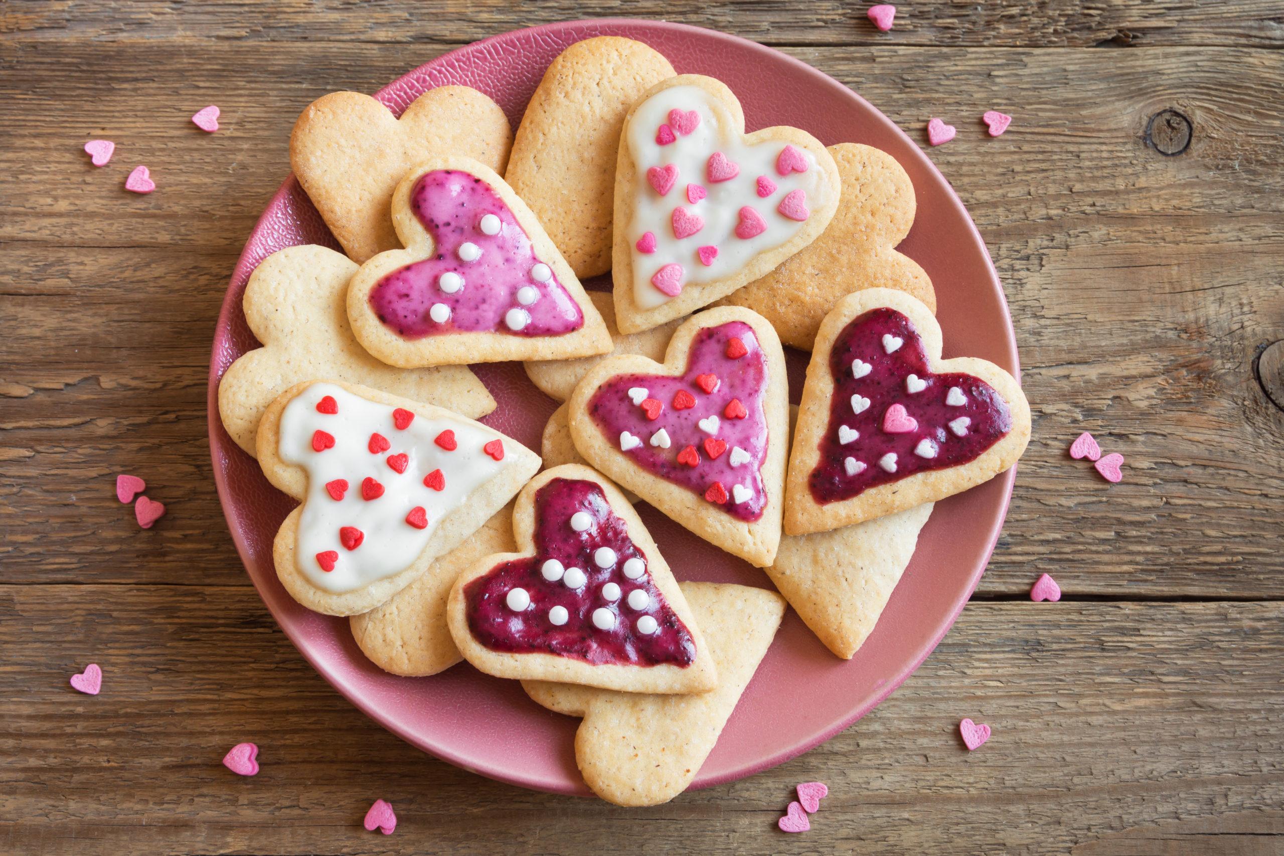 Eggless sugar cookies